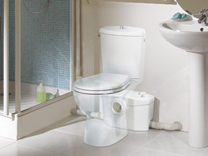 Sanipro in bathroom